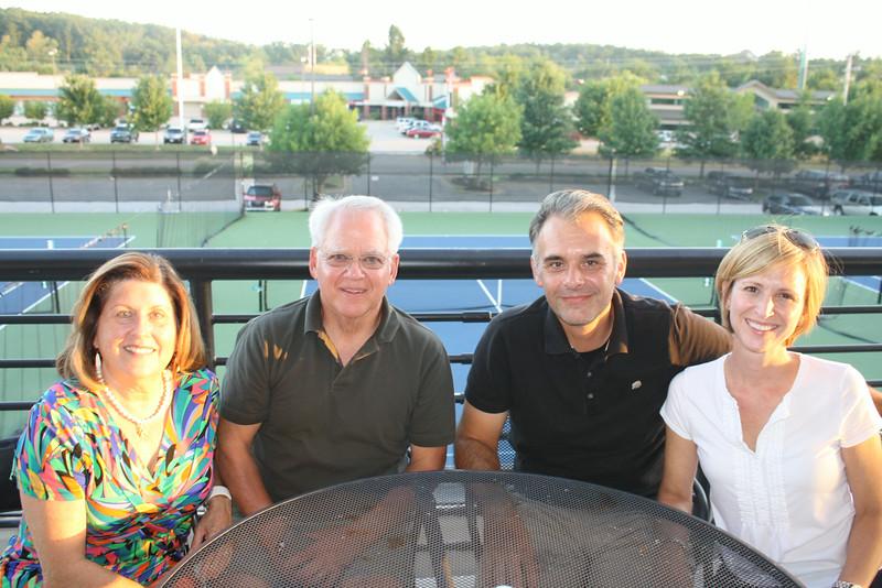 Ann & Donald Baird with John & Cindy Meullenet2