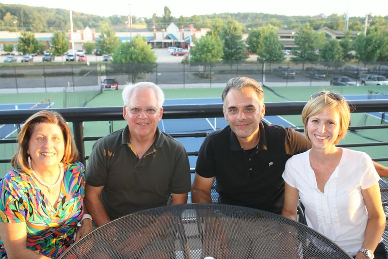 Ann & Donald Baird with John & Cindy Meullenet