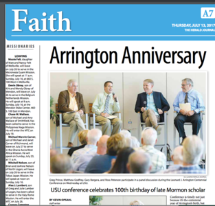 centennial celebration for LJA