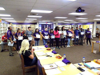 Center Middle School students lauded by Center ISD School Board
