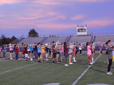 Center Roughrider Band kicks off new school year