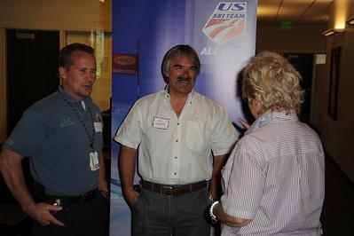 USSA Center of Excellence Dedication, July 17, 2009 Photo: Scott Sine