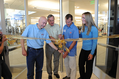 The USSA's Center of Excellence ribbon cutting ceremony May 16, 2009 Photo: Scott Sine