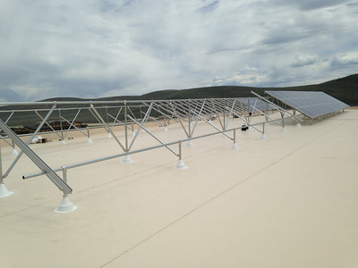 Solar Panels at The Center of Excellence