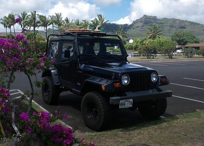 Jeeps & Vehicles of Kauai