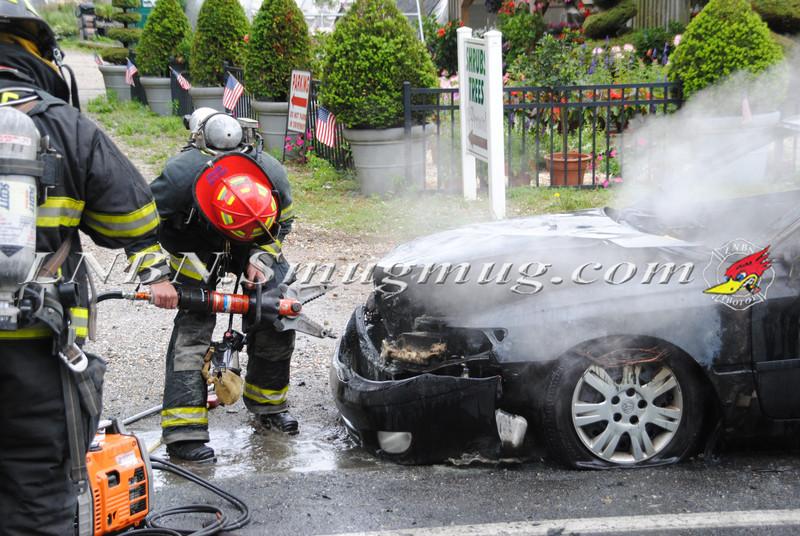 Center Moriches Car Fire 6-14-12-13