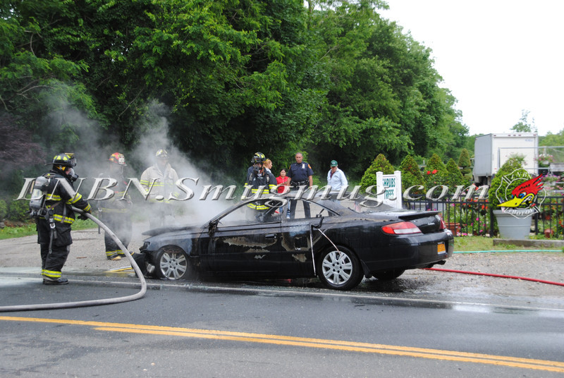 Center Moriches Car Fire 6-14-12-10