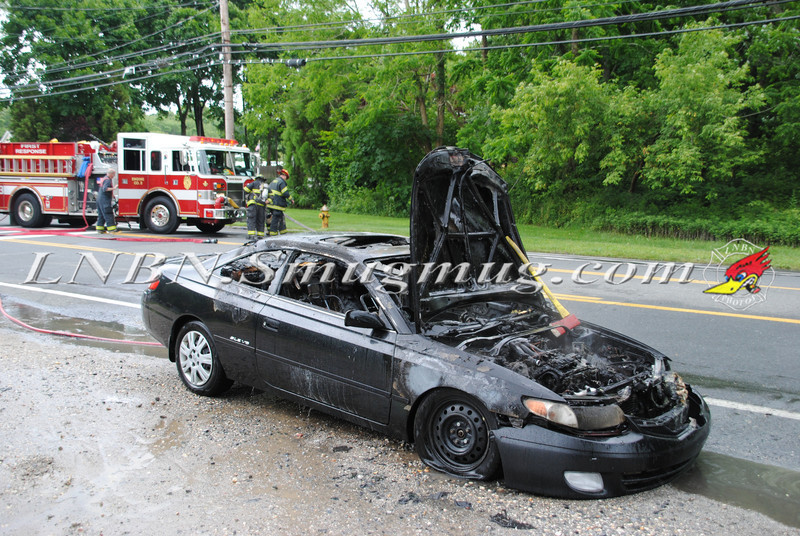 Center Moriches Car Fire 6-14-12-17