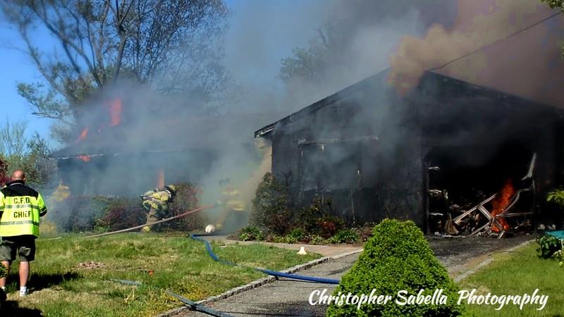 Centereach house fire