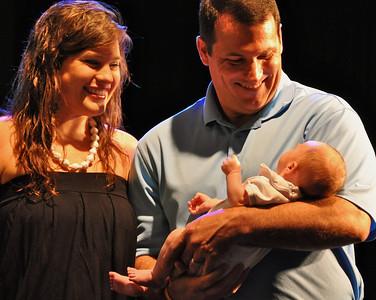 Baby Dedication May 2013