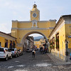 Antigua, Guatemala. A well preserved old colonial town in the highlands slightly to the northwest of Guatemala City. It is a World Heritage Site and the number one tourist town in the country. Founded in 1543, it served for the next 200 years as the military and administrative  center for the Spanish Colony of Guatemala. At the time, the Spanish Colony of Guatemala included all of Central America and part of Southern Mexico.