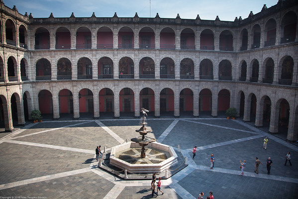 National Palace, Mexico City 9938