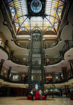Lobby of Gran Hotel Ciudad de Mexico