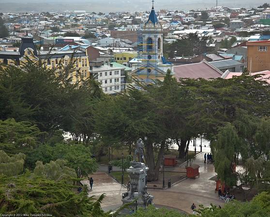 Punta Arenas - Magellan memorial