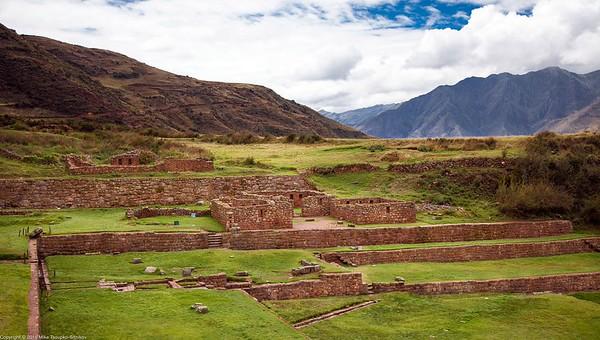 Inca Site at Tipon