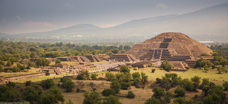 View from the Pyramid of the Sun, Teotihuacan, Mexico-27