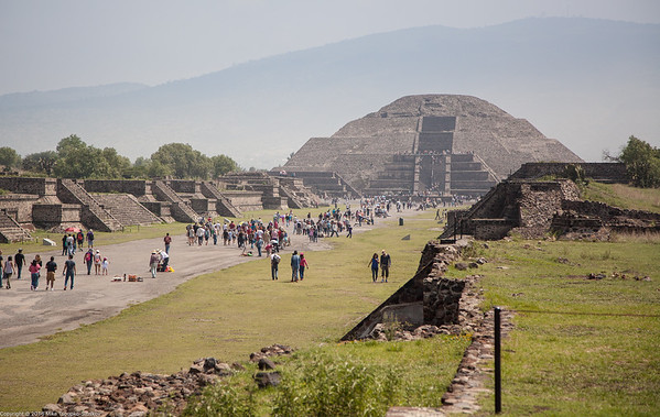 Pyramid of the Moon, Teotihuacan, Mexico-6