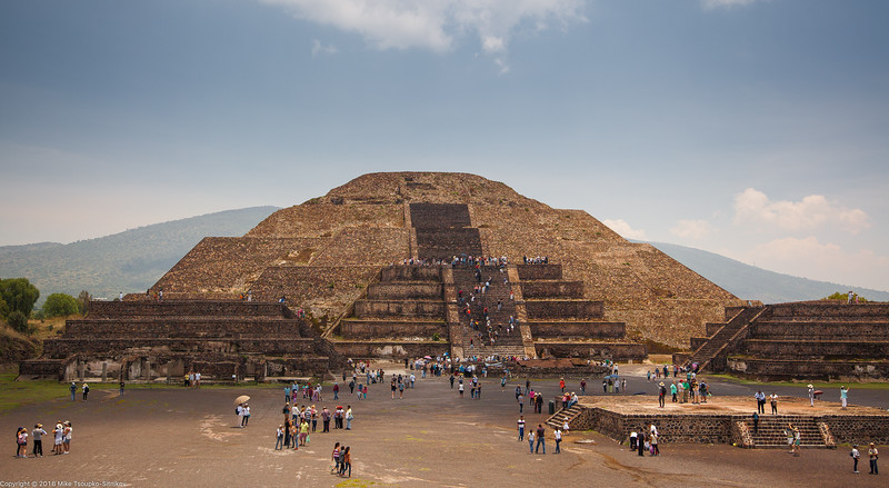 Pyramid of the Moon, Teotihuacan, Mexico-8