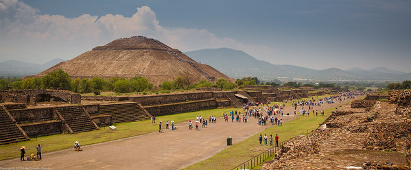 Pyramid of the Sun, Teotihuacan, Mexico-29