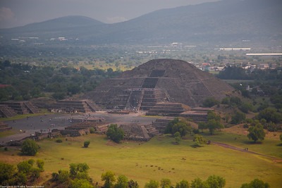 View from the Pyramid of the Sun, Teotihuacan, Mexico-15