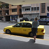Our taxi arrives to take us from the Las Vegas Hotel & Apartments in Panama City to Shelter Bay Marina near Colon at the northern end of the canal