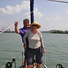 Ian & Sheila are in the Pacific; well, almost as the Bridge of the Americas is just ahead