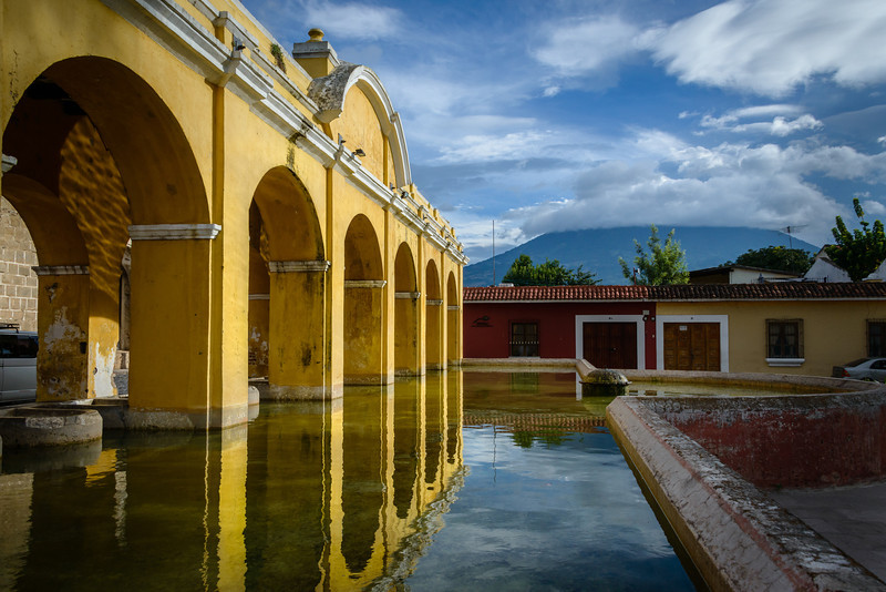 Washing Area - Antigua, Guatemala