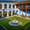 Courtyard, Ruins & Museum