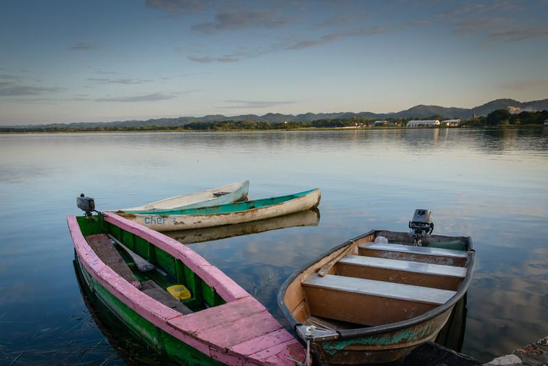 Lago Petén Itzá, Flores, Guatemala
