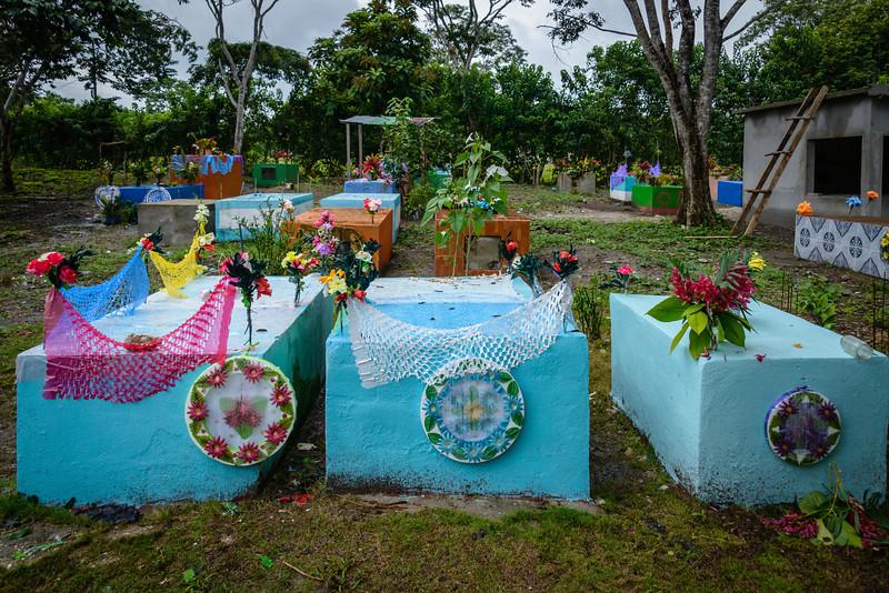 Grave yard near Flores