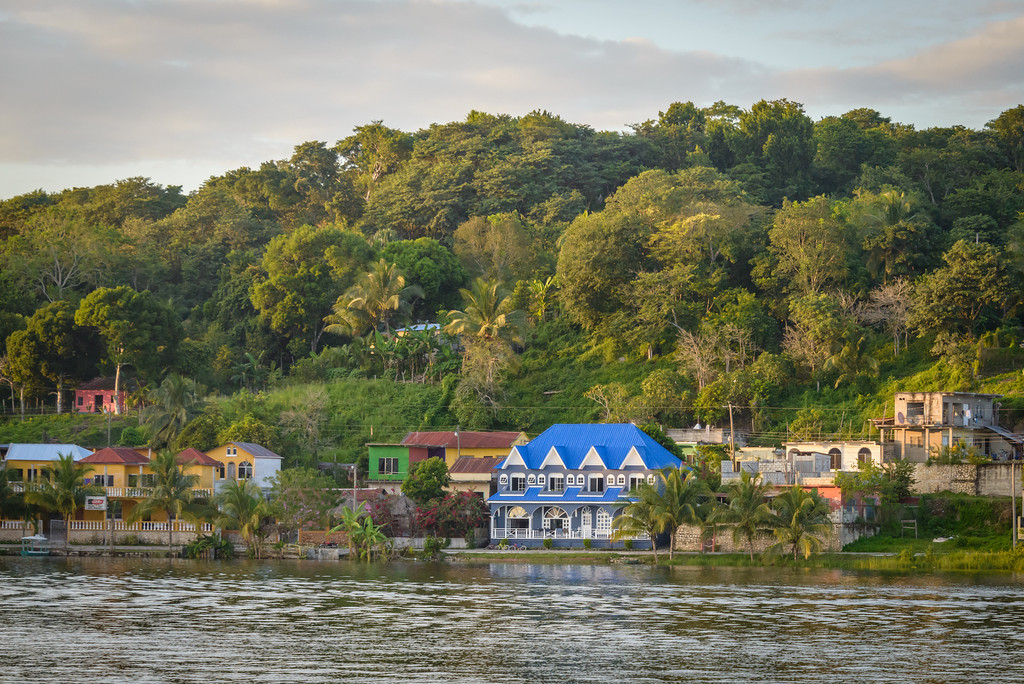 Casa Azule, Flores, Guatemala