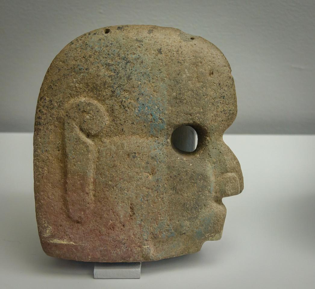 Cerimonial Face Stone, Mayan