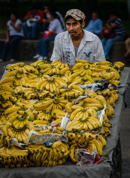 Banana Vendor, Guatemala City