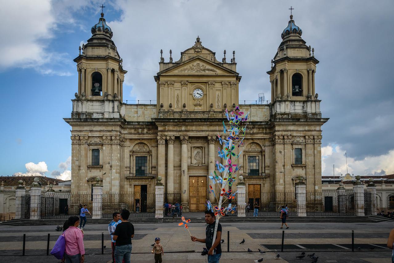 Catedral Metropolitana, Plaza Major, Gualemala City