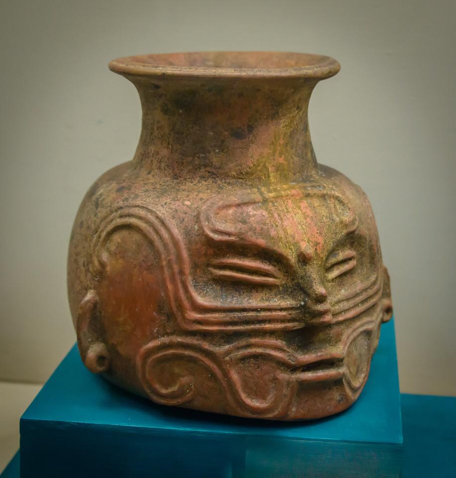 Human Vase, Mayan circa 250 bce