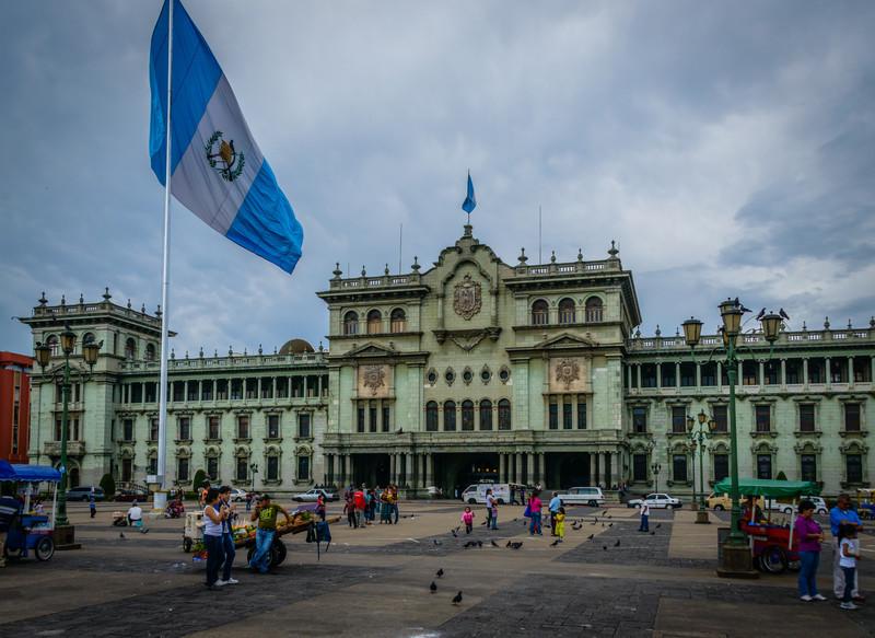 Palacio Nacional, Guatemal City