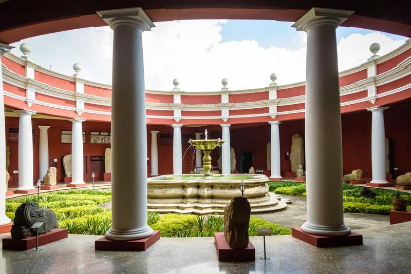 Court Yard, Museo Nacional de Arqueologia y Etnologia
