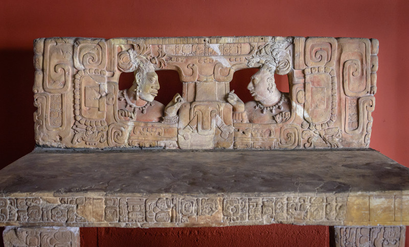 Throne, Mayan era