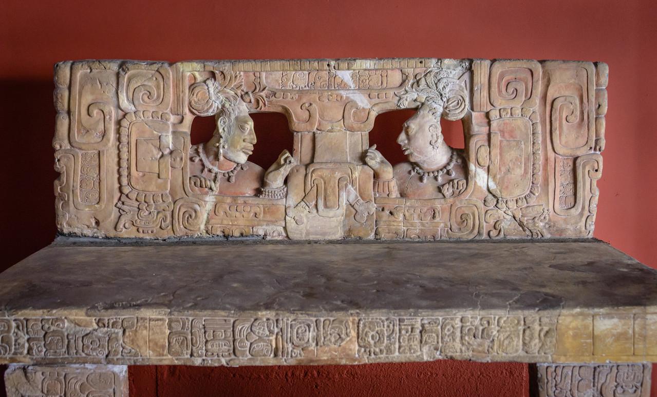 Throne, Mayan era