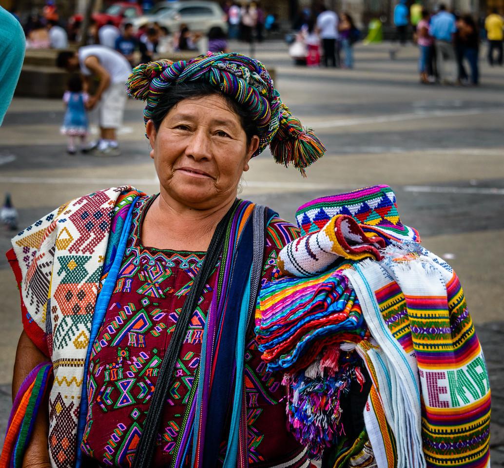 Street Vendor, Plaza Major
