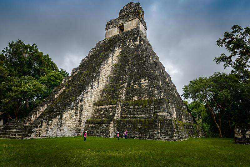 Pyramid of the Great Jaguar 154 FT high.- Tikal