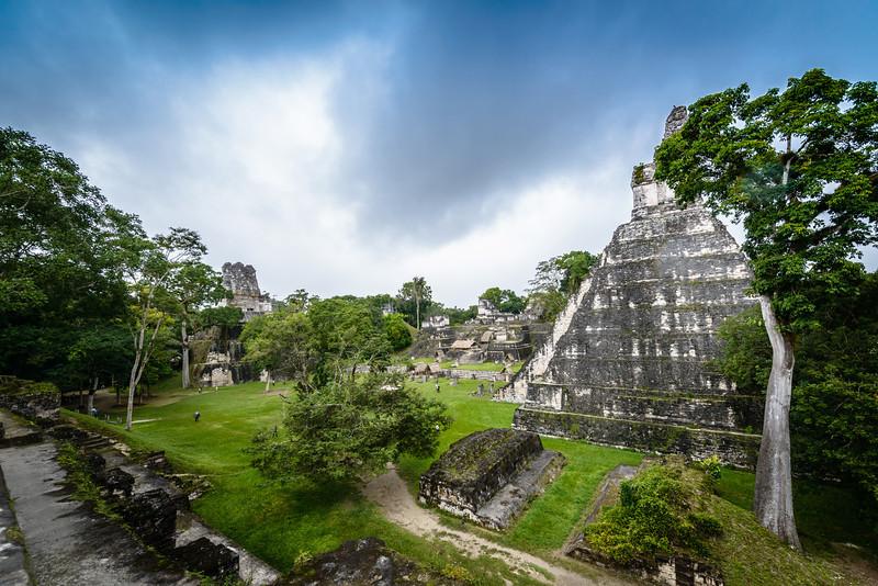 The Great Plaza, Tikal Guatemala