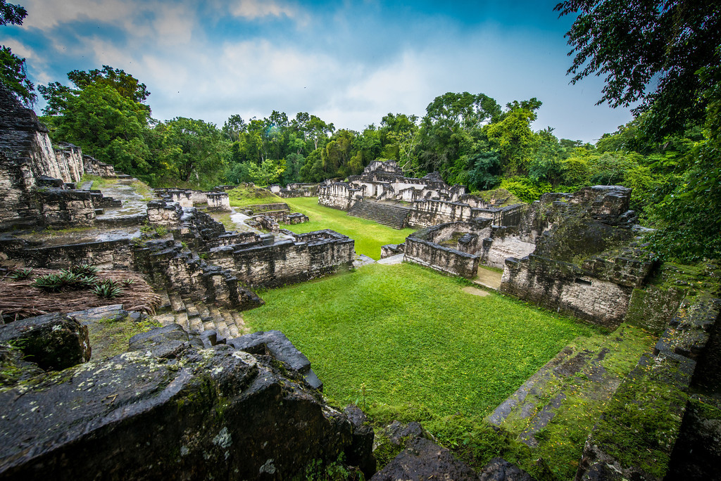 Central Acropolis - Tikal Guatemala