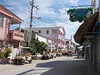 In the town of San Pedro, the only real town on Ambergris Caye, souped up golf carts are the main method of transportation.
