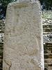 A carved stone slab on Stella 9