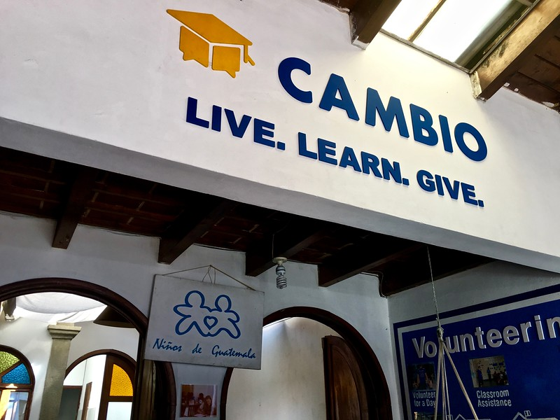 Cambio NDG language school in Antigua, Guatemala