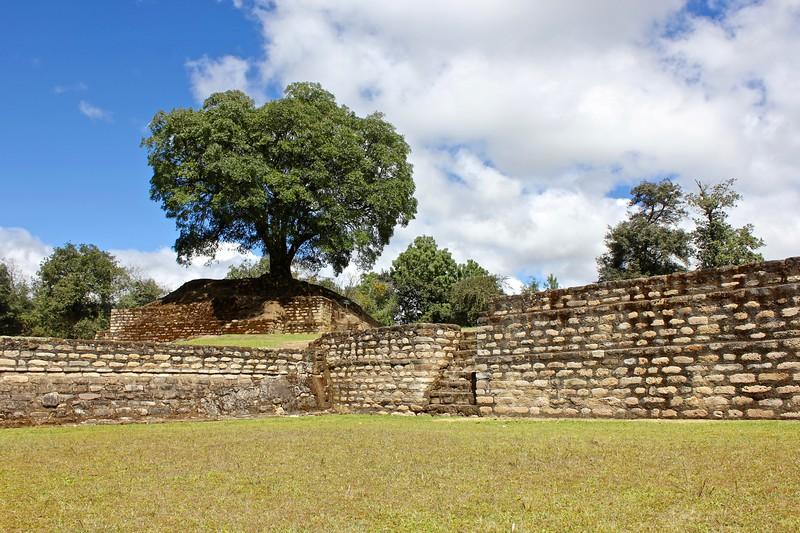Mayan ruins of Iximché in Guatemala