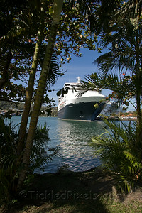 MS Maasdam in St Lucia