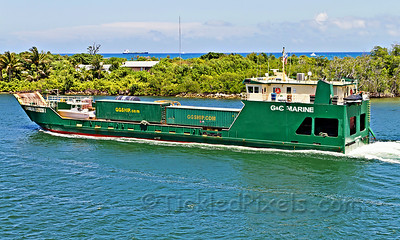 Ro/Ro Cargo Ship 'Caribbean Express 1' at Port Everglades