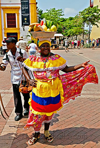 Palanquera - Traditional Fruit Seller